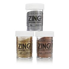 American Crafts Zing! Metallic Embossing Powder Set