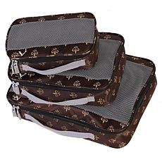 American Flyer Fleur De Lis 3pc Perfect Packing System