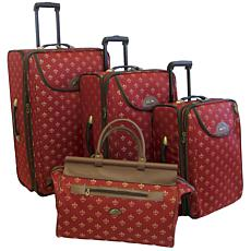 American Flyer Lyon 4-Piece Luggage Set