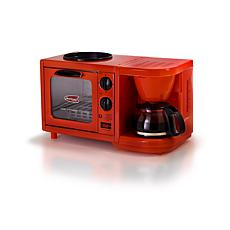 Americana by Elite 3-in-1 Mini Breakfast Shoppe - Red