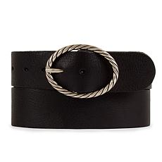Amsterdam Heritage Yara Vintage Buckle Leather Belt