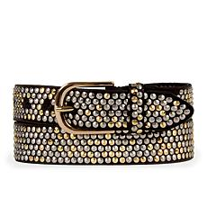 Amsterdam Heritage Zina Studded Leather Belt