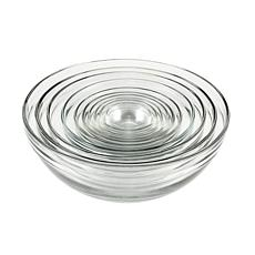 Anchor Hocking 10-piece Nested Glass Bowl Set