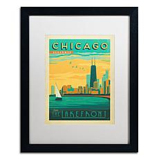 "Anderson Design Group ""Chicago II"" Matted Framed Art"