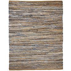 Anji Mountain American Graffiti Denim and Jute Rug