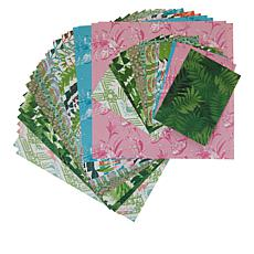 Anna Griffin® 48-piece Tropical Double-Sided Cardstock Set