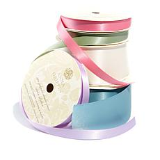 Anna Griffin® 5 Spools of Double-Faced Satin Ribbon
