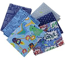Anna Griffin® 6-Piece Monsters vs Robots Fat Quarters