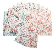 Anna Griffin® 72-piece Toile Cardstock Set