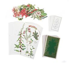 Anna Griffin® Christmas Botanical Card Toppers