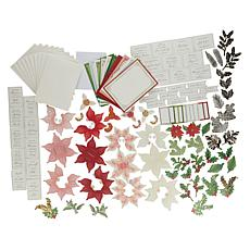 Anna Griffin® Poinsettia Pop-Up Card-Making Kit
