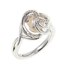 """Anne Geddes """"Miracle"""" White Knot Ring"""