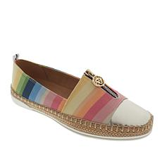 Anne Klein Sport Zetta Espadrille Flat with Zipper