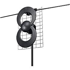Antennas Direct UHF VHF Indoor Outdoor DTV Antenna with 20 Mount