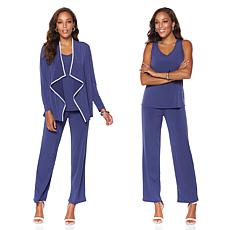 Antthony 3-piece Cardigan, Tank and Pant Set