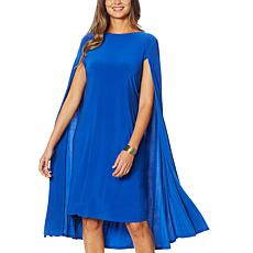 Antthony Cape Sheath Dress