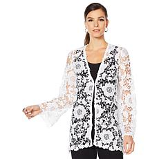 Antthony Crochet Lace Cardigan