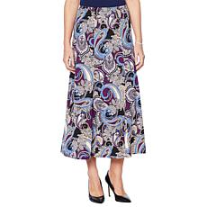 "Antthony ""Elda Collection"" Maxi Gore Skirt"