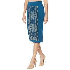 Antthony Embellished Pencil Skirt