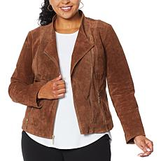 "Antthony ""Glorious Gifts For Her"" Suede Moto Jacket"