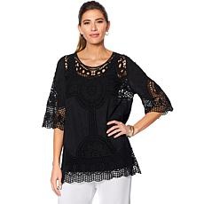 "Antthony ""Knockout"" Crochet Tunic with Tank"