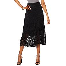 "Antthony ""Lacey Days"" Tiered Lace Skirt"