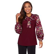 "Antthony ""Modern You"" Bishop-Sleeve Blouse"