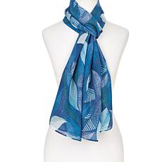 Antthony Printed Chiffon Scarf