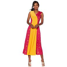 "Antthony ""Sassy Mama"" Colorblock Maxi Dress"