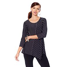 "Antthony ""Striped for Success"" Striped Tunic"