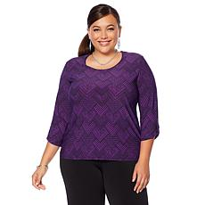 "Antthony ""Timeless Textures"" 2-pack 3/4-Sleeve Tops"