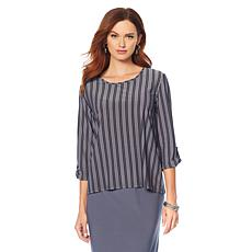 """Antthony """"Timeless Textures"""" 2-pack 3/4-Sleeve Tops"""