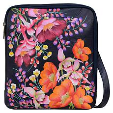 Anuschka Hand-Painted Leather Large Crossbody