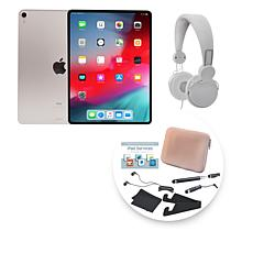 "Apple 2018 iPad Pro® 11"" 256GB Silver Tablet with Accessories"