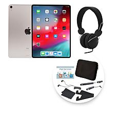 """Apple 2018 iPad Pro® 11"""" 256GB Silver Tablet with Accessories"""