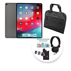 """Apple 2018 iPad Pro® 12.9"""" 1TB Space Gray Tablet w/Bag & Accessories"""