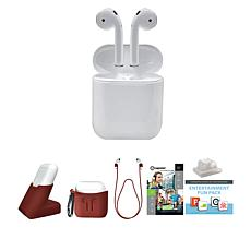 Apple Airpods Truly Wireless Earphones with Charging Case and Stand