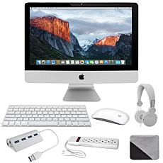 """Apple iMac 21"""" 3.4GHz with DJ Headphones, Cleaning Cloth & Accessories"""