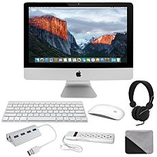 "Apple iMac 21"" 3.4GHz with DJ Headphones, Cleaning Cloth & Accessories"