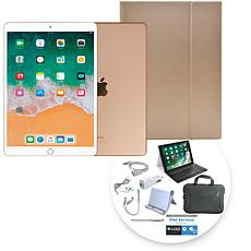 "Apple iPad Air® 10.5"" 64GB Gold Tablet with Keyboard Case"