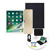 "Apple iPad Pro 10.5"" 64GB Wi-Fi Tablet w/Case & Accessories - Gold"