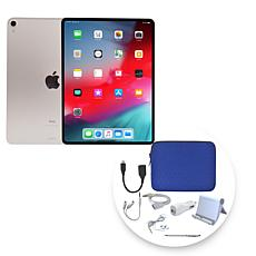 "Apple iPad Pro® 11"" 256GB Cellular Tablet w/Zipper Case & Accessories"