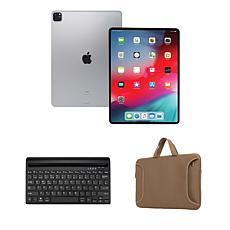 """Apple iPad Pro® 11"""" 512GB Tablet with Bluetooth Keyboard and Case"""