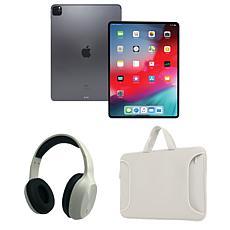 "Apple iPad Pro 12.9"" 256GB Wifi w/Bluetooth Headphones & Carry Case"