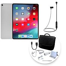 "Apple iPad Pro® 12.9"" 64GB Tablet w/3-in-1 Messenger Bag & Accessories"