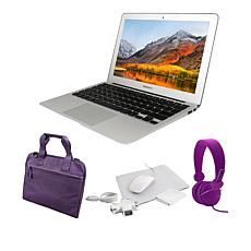 "Apple MacBook Air® 11.6"" 4GB RAM, 128GB Flash Storage Laptop Bundle"