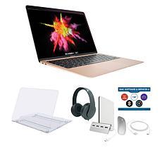 "Apple MacBook Air 13"" M1 8GB RAM 256GB SSD Gold Laptop Bundle"