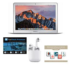 "Apple MacBook Air® 13.3"" 8GB RAM/128GB SSD Laptop w/Tech and AirPods"