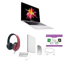 """Apple MacBook Air 2020 13"""" 8GB RAM 256GB SSD Silver Laptop Bundle"""