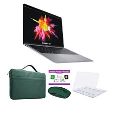 """Apple MacBook Air 2020 13"""" Intel Space Gray Laptop with Clip Case"""